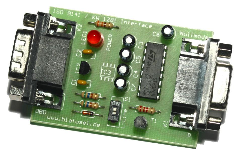 Serielles Rs232 Kl Interface F 252 R Obd