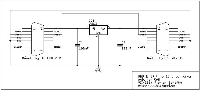 LKW Adapter für 24 V