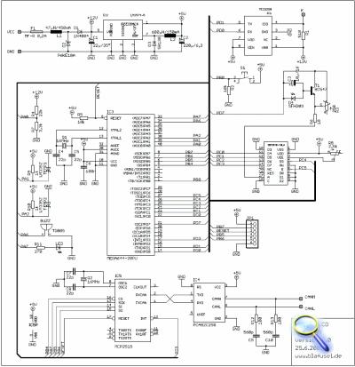 OBD II LCD Modell D - Multifunktionsanzeige und Diagnosetool